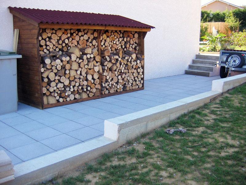 Composteur Bois Castorama : Abris bois de chauffage – Jardin sur EnPerdreSonLapin